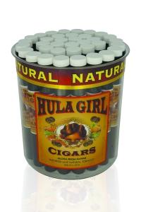Tub of 36 Hula Girl 100% Natural Cigars