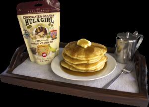 Hula Girl Chocolate & Banana Premium Pancake and Waffle Mix