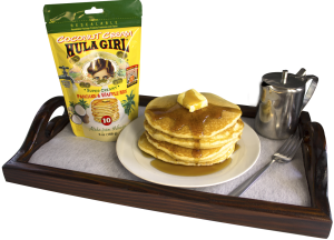 Hula Girl Coconut Cream Pancake and Waffle Mix
