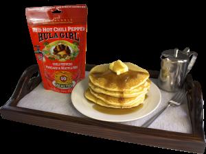 Hula Girl Red Hot Chili Pepper Pancake and Waffle Mix