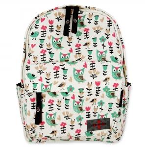 Life Spirit Backpack Owl, Bird, Tulip and Flower