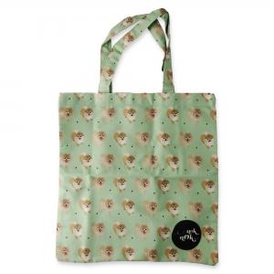 Eco Tote Bag Pomeranian