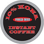 Kona Coffee Freeze Dried