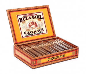 Hula Girl Chocolate Mac Nut Box of 50