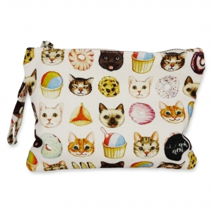 Small pouch Cats and Desserts