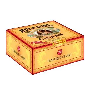 Natural Hula Girl Cigars Box of 24