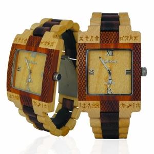 Handmade Wooden Watch Made with Maple and Acacia Koa Wood - Kahala Brand # 3