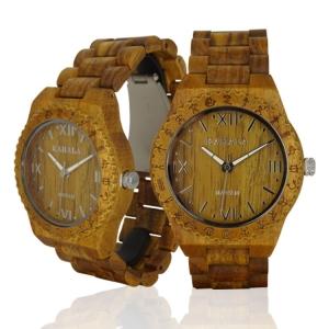 Handmade Wooden Watch Made with Teak Wood