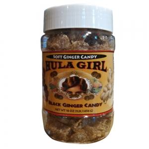 Hula Girl Dark Soft Ginger Candy 454grams