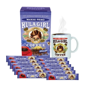 Waikiki Primo Freeze Dried Coffee (Box of 12 sachets)