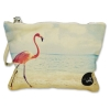 Small pouch Flamingo in Sea