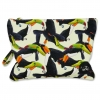Small pouch Black Bird