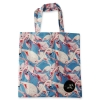 Eco Tote Bag Flamingo Pattern (Blue)