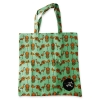 Eco Tote Bag Flamingo, Pineapple and Hibiscus