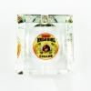 Hula Girl Four Small Cigar Crystal Ashtray (Square)