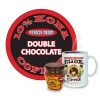 "Hula Girl 10% Kona Blend Freeze Dried Instant Coffee ""Double Chocolate"" Jar with Handle (40g)"