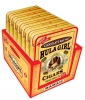 Hula Girl Chocolate Mac Nut Small Cigar Box of 7 Tins with 8 Mini Cigars Each