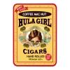 Hula Girl Coffee Mac Nut Small Cigar Tin with 8 Mini Cigars