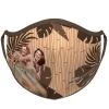 Hula Girl Face Mask with Dancing Hula Girl Design