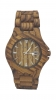 Handmade Wooden Watch Made with Zebra Wood - Kahala Brand # 34