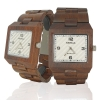 Handmade Wooden Watch Made with Red Sandalwood - Kahala Brand #50