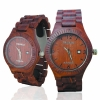 Handmade Wooden Watch Made with Red Sandalwood - Kahala Brand # 36