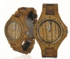 Handmade Wooden Watch Made with Acacia Koa Wood - Kahala #1A