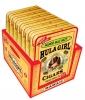 Hula Girl Mango Mac Nut Small Cigar Box of 7 Tins with 8 Mini Cigars Each