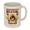 Hula Girl Coffee Mug White 11oz