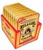 Hula Girl 100% Natural Small Cigar Box of 7 Tins with 8 Mini Cigars Each