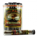 Tub of 25 Chocolate Macadamia Nut Volcano Cigars