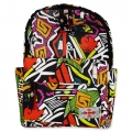 Life Spirit Backpack Abstract Design