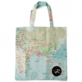 Eco Tote Bag Map