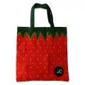 Eco Tote Bag Strawberry