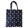 Eco Tote Bag Swan Pattern