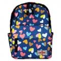 Life Spirit Backpack Colorful Heart (Blue)