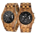 Handmade Wooden Watch Made with Asian Koa Wood and Asian Mango Wood Watch # 11A-BF
