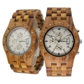 Handmade Wooden Watch Made with Asian Koa Wood and Mango Wood  # 11A-WF