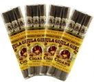 Hula Girl Coconut Mac Nut Small Cigars 4-Pack