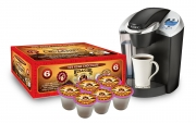 Hula Girl 10% Kona Chocolate Flavored Coffee Box of 6 K-Cups