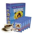 Hula Girl Coconut 10% Kona Drip Coffee Box of 5