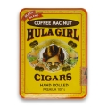 Hula Girl Coffee Mac Nut Cigars in Tin