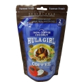 Hula Girl 100% Coconut Flavored Instant Freeze Dried Coffee 50g