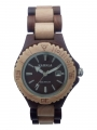 Handmade Wooden Watch Made with Acacia and Maple wood - Kahala Brand # 31