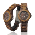Handmade Wooden Watch Made with Acacia Wood - Kahala Brand # 30