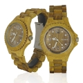 Handmade Wooden Watch Made With Green Sandalwood