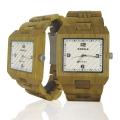 Handmade Wooden Watch Made with Green Sandalwood - Kahala Brand #48