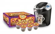 Hula Girl 10% Kona Vanilla Flavored Coffee Box of 6 K-Cups