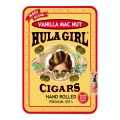 Hula Girl Vanilla Mac Nut Small Cigar Tin with 8 Mini Cigars
