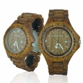 Handmade Wooden Watch Made with Walnut Wood - Kahala Brand # 1W